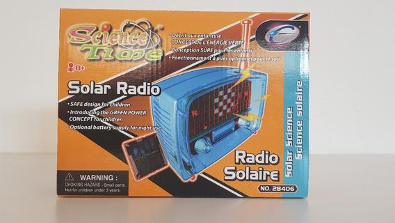 Radio De Juguete Funciona Con Energía Solar