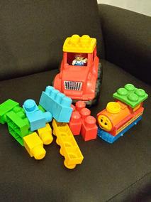 Tractor Mega Blocks Incluye Minimo 12 Piezas Juguete Niño