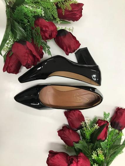 Sapato Salto Quadrado 14000021