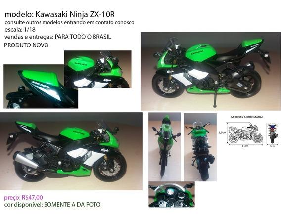 Miniatura Kawasaki Ninja Zx-10r Gamk4