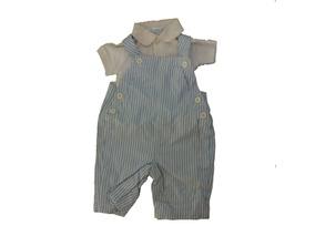 Lote Roupa 4 Peça Infantil Menino Calça Blusa Macacao B5460