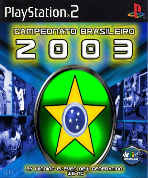 Winning Eleven Campeonato Br 2003 - Playstation 2 Patch
