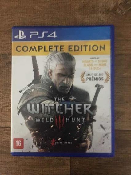 Jogo De Vídeo Game The Witcher 3 Edição Completa
