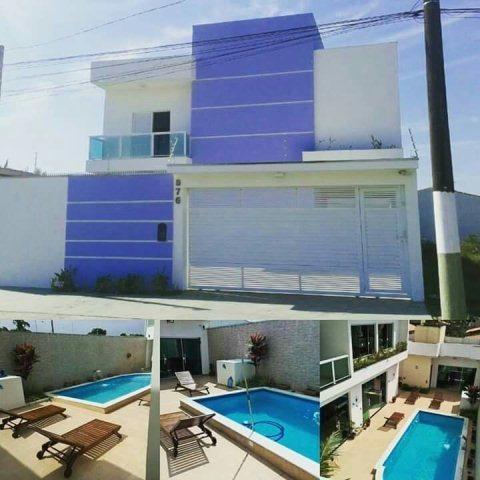 Sobrado Com Piscina E 3 Dormitórios Em Itanhaém/sp 4228-pc