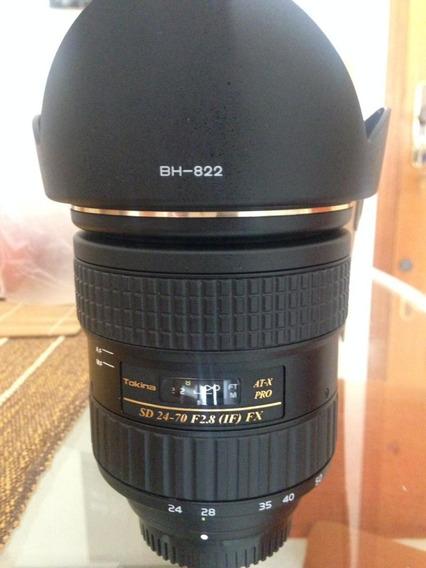 Lente Tokina At-x Pro 24-70mm F.2.8 ( Nikon)