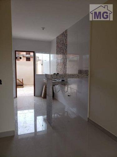 Imagem 1 de 15 de Casa À Venda, 60 M² Por R$ 160.000,00 - Jardim Franco - Macaé/rj - Ca0424