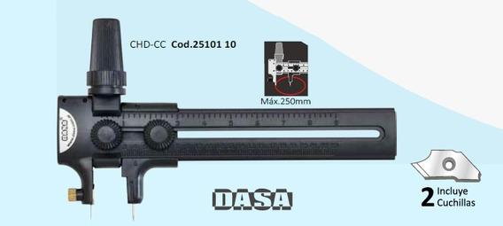 Cutter Circular Compas Dasa Hasta 25cm Corta Circulos