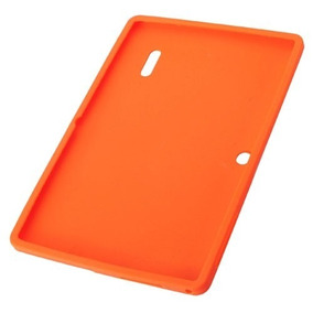 Case Silicone Tablet Orange 755 Laranja