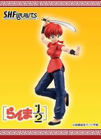 Ranma Saotome Mulher S.h Figuarts Bandai Original