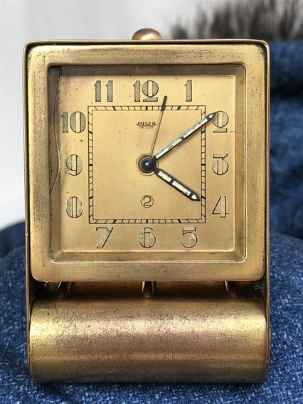 Relógio Jaeger Anos 30 Cal. 211 Art Deco Latão, Tenho Outro