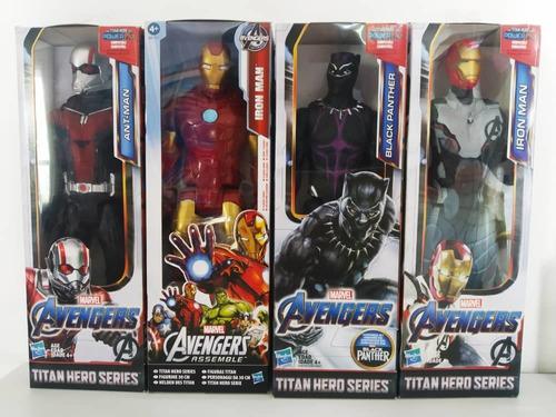 Ant-man Capitana Marvel Thor Capitán Pantera Hasbro 13vds