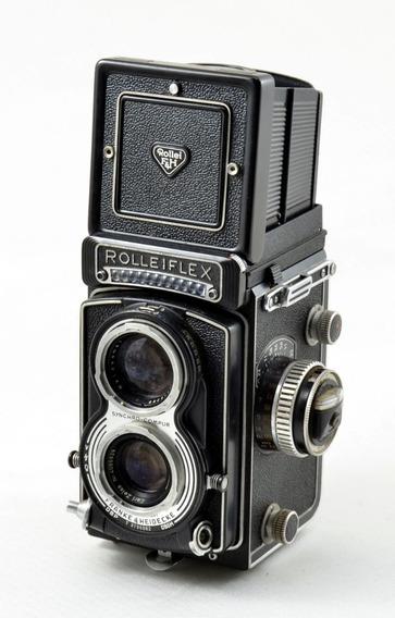 Rolleiflex Tessar F 3.5 75mm - Excelente Estado Conservação