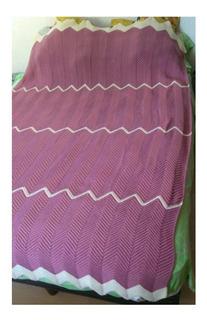 Colcha Tejida Crochet. Envío Gratis