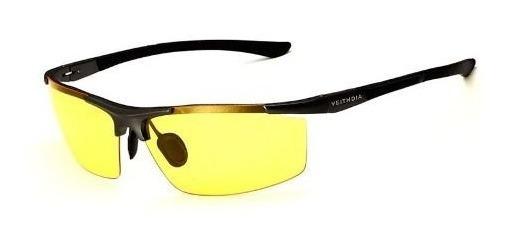 Óculos Noturno Veithdia De Alumínio Estilo Esportivo