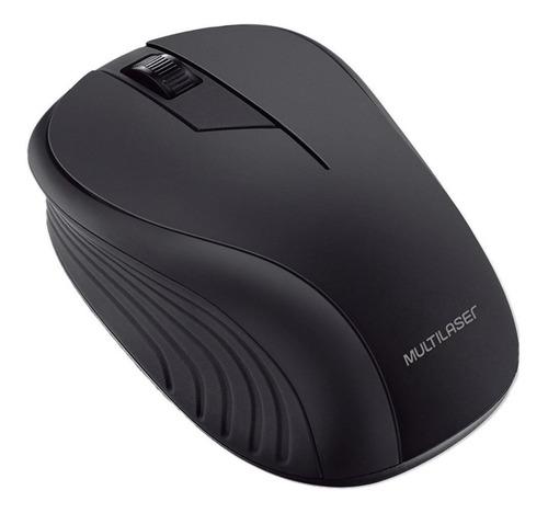Imagem 1 de 1 de Mouse sem fio Multilaser  MO213 preto