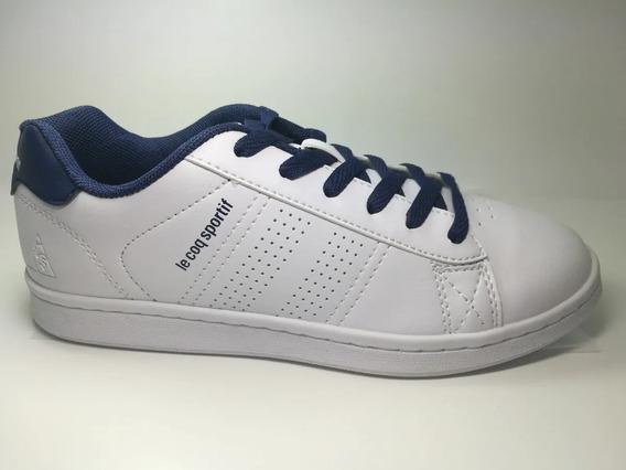 Zapatillas Escolares Le Coq Sportif Sculi White - Navy