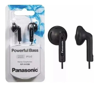 Auricular Panasonic Powerful Bass Rp-hv096