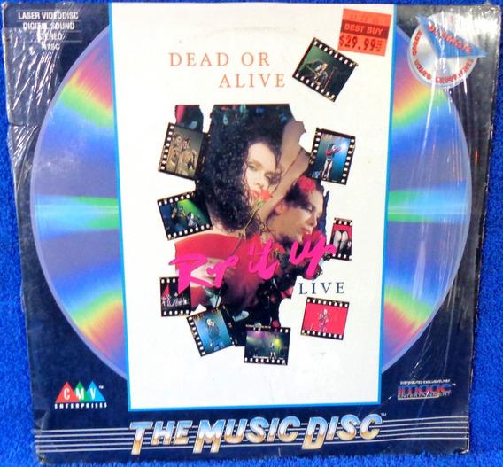 Laserdisc Dead Or Alive Rip It Up Live Original Importado