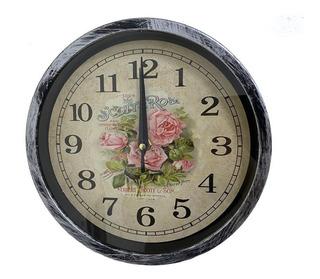 Reloj De Pared Colgar Hermoso Decorativo 23cm. Diametro