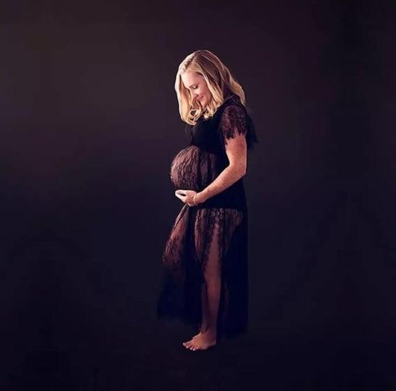Vestido Maternidad Embarazo Sesión Foto