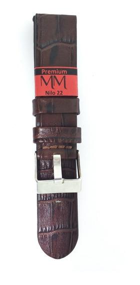 Pulseira De Couro Para Relógio 22mm Marry Montan