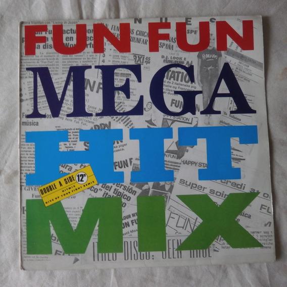 Lp Fun Fun Mega Hit Mix, Maxi Single Importado Eurodisco