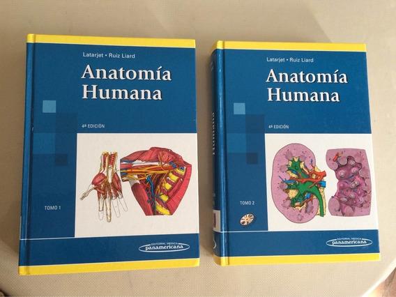 Livro De Anatomia Humana Latarjet Tomos 1 E 2