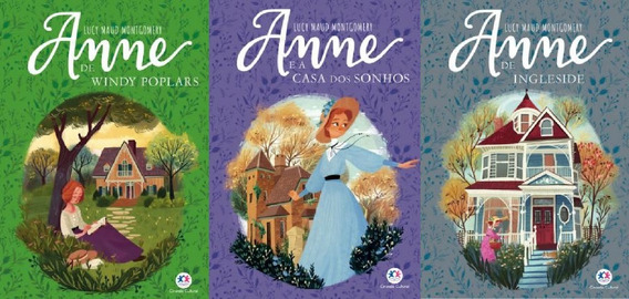 Kit Com Os Livros 4, 5 E 6 Anne With Anne (ciranda Cultural)
