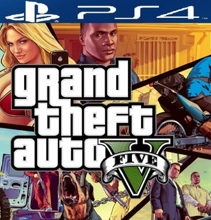 Gta 5 Ps4 Grand Thef Auto V Original Economico - Offgaming
