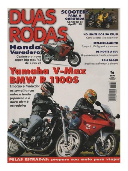 Duas Rodas N°280 Yamaha V-max Bmw R 1100s Honda Varadero Xl