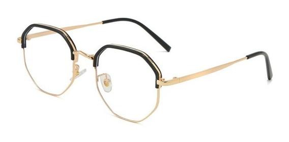 Armação De Óculos Feminino Clean Duo Color Lindo Luxo