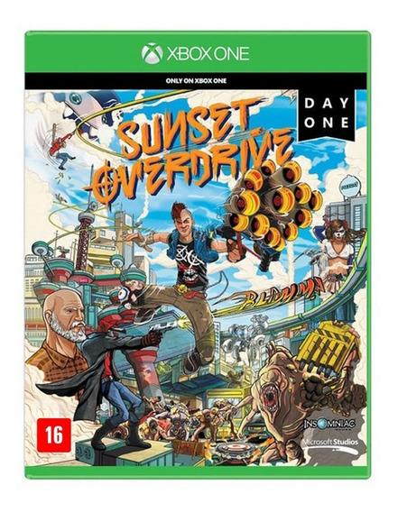 Sunset Overdrive - Xbox One - Novo - Lacrado - Física
