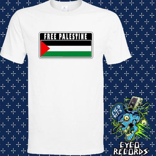 Imagen 1 de 3 de Palestina Libre - Otros - Polera- Cyco Records