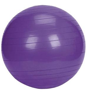 Bola Suica Premium - 55cm - Pilates Yoga - Anti Estouro