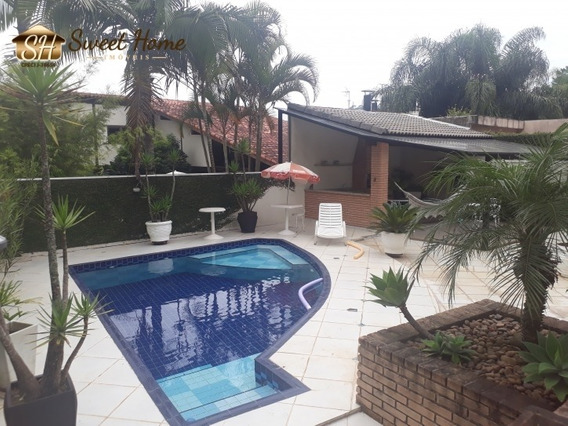 Casa Com 4 Suites Em Aldeia Da Serra Estuda Permuta Barueri - Sh1511
