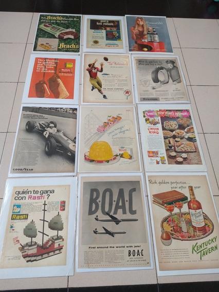 Láminas De Publicidades Antiguas Originales,lote (5)