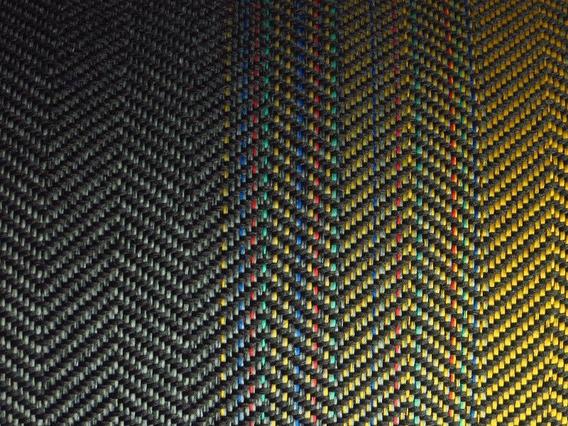Tecido Recaro Gol Gti Volkswagen Laguna Amarelo 1 Metro