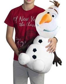 Pelucia Antialergico Olaf 70 Cm Grande Filme Frozen Gigante