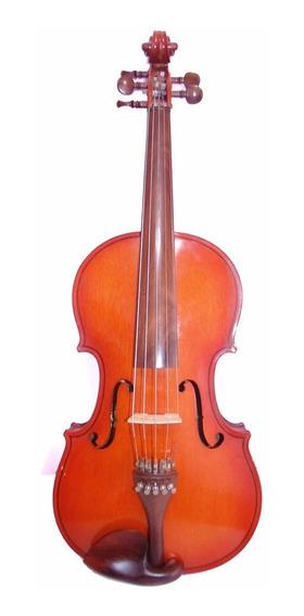 Viola De Arco 5 Cordas Orquestra 37 Com Estojo E Arco