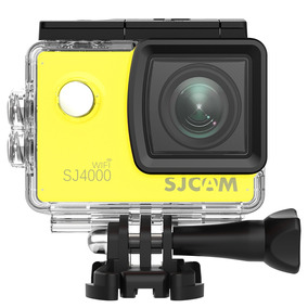 Camera Sj4000 Wifi Sjcam Original Full Hd Filmadora Amarela