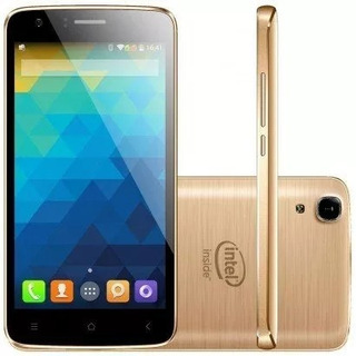 Smartphone Qbex X-gold W509 Dual 16gb Dourado Lacrado