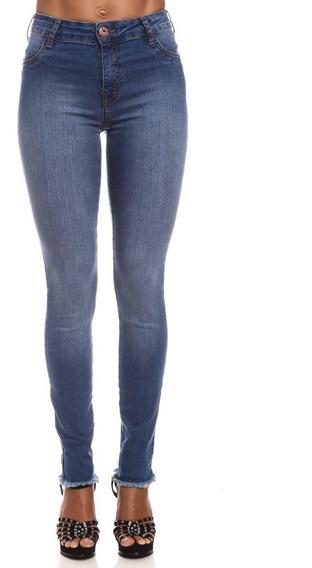Calça Jeans Coca-cola Barra Desfiada Mid Skinny 23202522