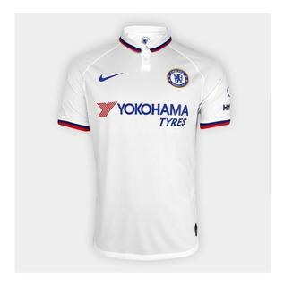 Camisa Chelsea Branca - Original - 2019/20 - Frete Grátis - Envio Imediato.