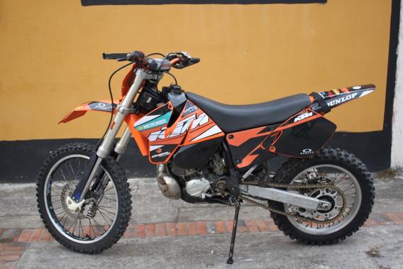 Moto De Enduro Ktm 300 Exc 98 En Excelente Estado!