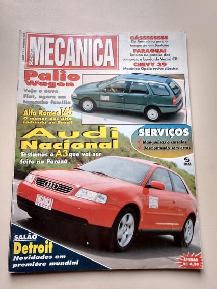 Revista Oficina Mecânica 124 S10 Audi Alfa 145 Chevy 021