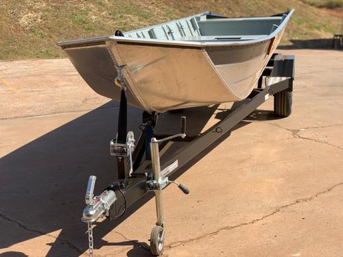 Imagem 1 de 12 de Carreta Reboque P/ Barco Alumínio De 4m Á 6m Embarque Fácil