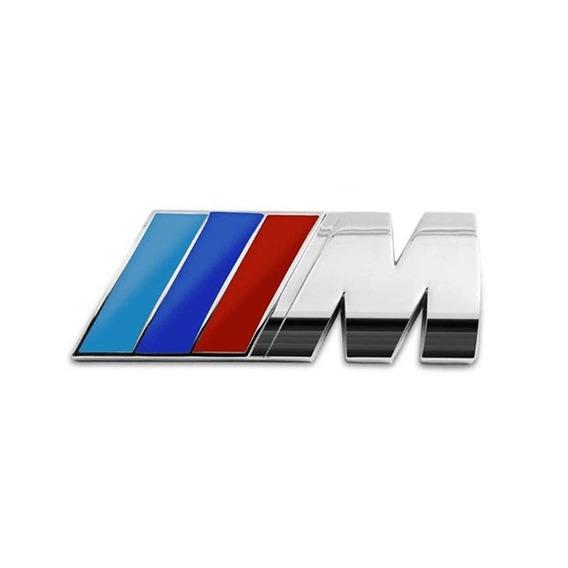 Emblema Cromado Paralelo Série M