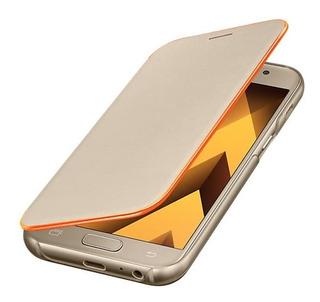 Protector Case Flip Cover Neon Oro A7 (2017) Original .