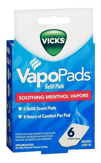 Repuesto Por Seis Vapopads Vaporizador Vicks