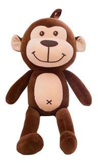 Divertido Mono Grande De Peluche Almohada Felpa Suave 80cm